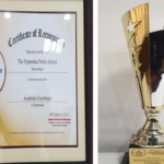 """HPSR is the proud recipient of the best school for """"The Award For Academic Excellence"""" from Times Of India"""